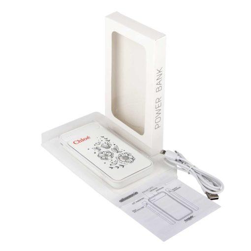 Внешний аккумулятор, Starlight Plus PB, 10000 mAh, белый