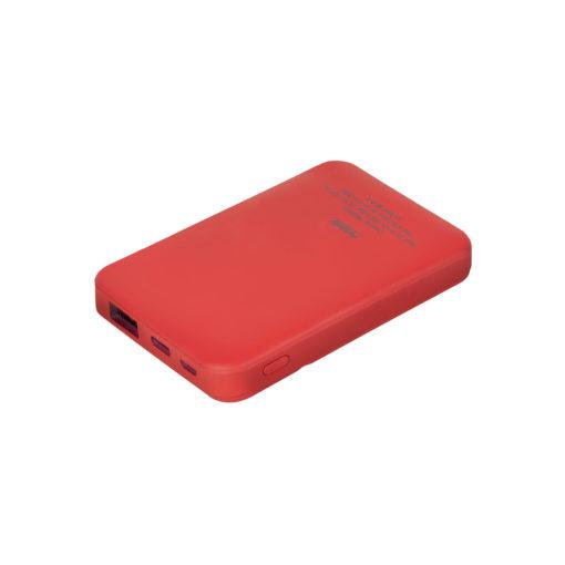 Внешний аккумулятор, Skyline, 5000 mAh, красный