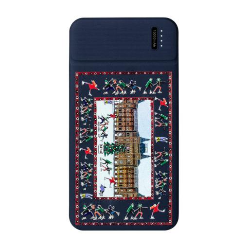 Внешний аккумулятор, Skyline Plus, 10000 mAh, синий