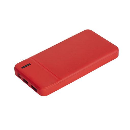 Внешний аккумулятор, Skyline Plus, 10000 mAh, красный