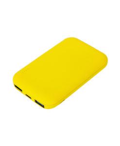 Внешний аккумулятор, Velutto, 5000 mAh, желтый