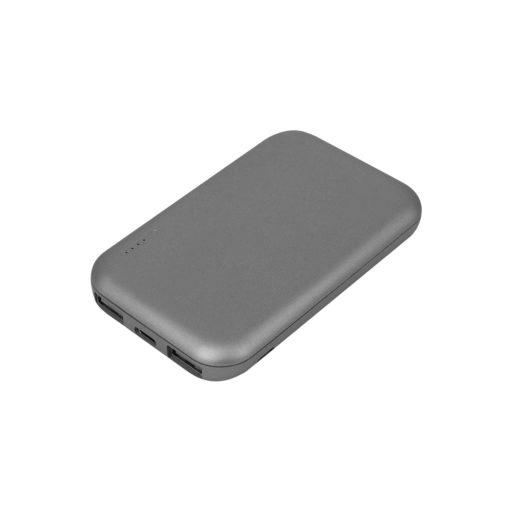 Внешний аккумулятор, Velutto, 5000 mAh, серый