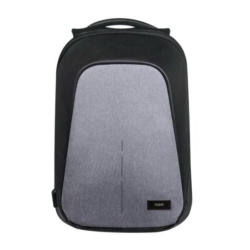 Рюкзак Stile c USB разъемом, серый/серый