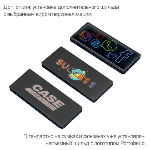 Рюкзак Migliores с USB разъемом, серый/бирюза