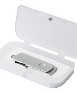 USB Флешка, Elegante, 16 Gb, серебряный, в подарочной упаковке