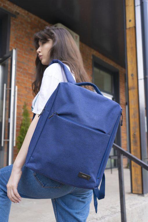 Рюкзак для ноутбука Conveza, синий/серый
