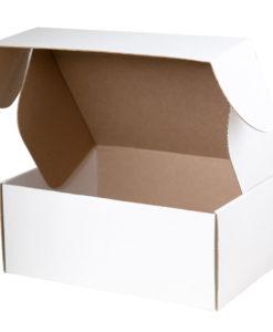 Подарочная коробка для набора универсальная, белая, 280*215*113 мм