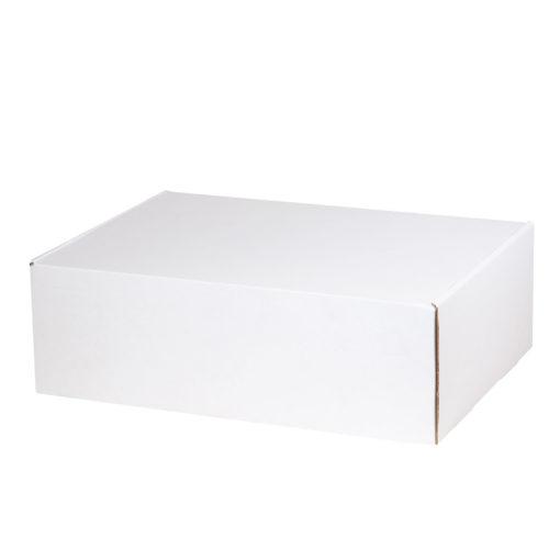 Подарочная коробка для набора универсальная, белая, 350*255*113 мм