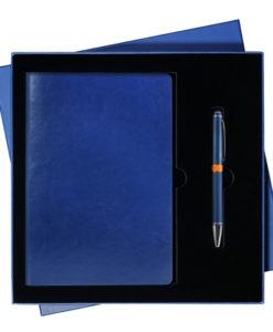 Подарочный набор Portobello/River Side синий (Ежедневник недат А5, Ручка)