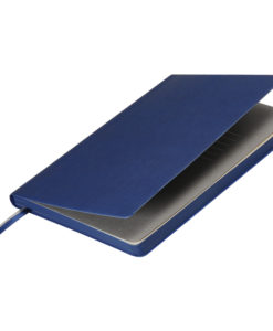 Ежедневник недатированный, Portobello Trend, Rain, 145х210, 256 стр, синий(светло-серый форзац, синий срез)