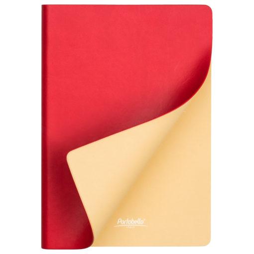 Подарочный набор Portobello/ Latte красно-белый (Ежедневник недат А5, Ручка, Power Bank)