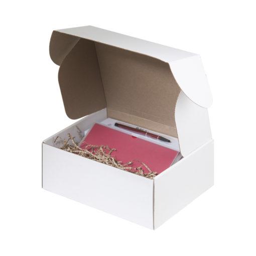 Подарочный набор Portobello красный в малой универсальной подарочной коробке (Спортбутылка, Ежедневник недат А5, Ручка)