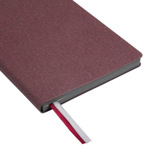Ежедневник недатированный, Portobello Trend, TWEED, 145х210, 256 стр, бургунди