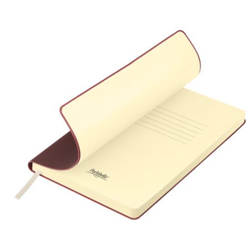 Ежедневник недатированный, Portobello Trend, Star, 145х210, 256 стр, бургунди