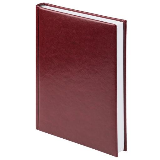 Eжедневник недатированный Birmingham 145х205 мм, блок без календаря, бургунди, без прошивки