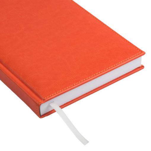 Eжедневник недатированный Birmingham 145х205 мм, без календаря, оранжевый