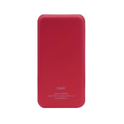 Внешний аккумулятор, Grand PB, 10000 mAh, красный, подарочная упаковка с блистером