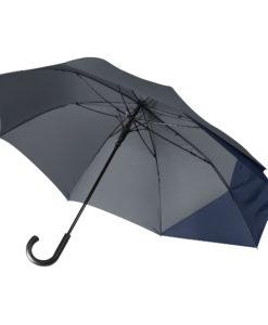 Зонт-трость Portobello Dune, серый/синий
