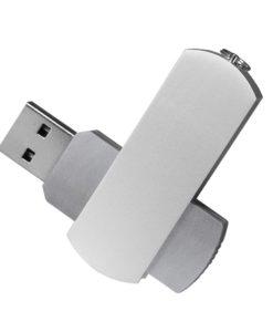 USB Флешка, Elegante, 16 Gb, серебряный